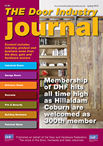 The Door Industry Journal - Spring 2015 Issue