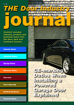 The Door Industry Journal - Winter 2015 Issue